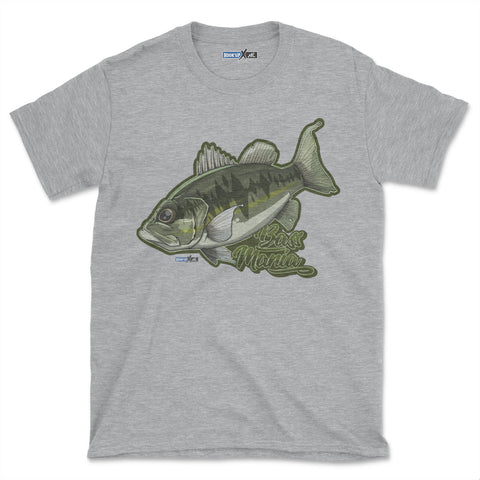Bass Mania (Short-Sleeve Graphic T-Shirt)
