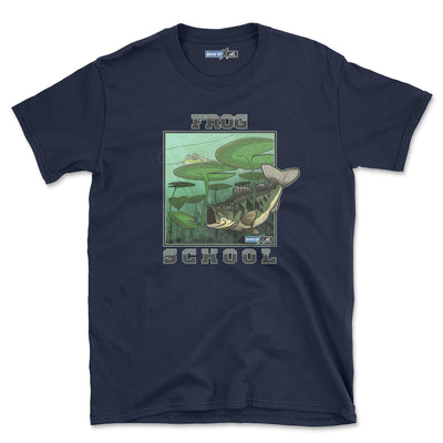 Frog School (Short-Sleeve Graphic T-Shirt)