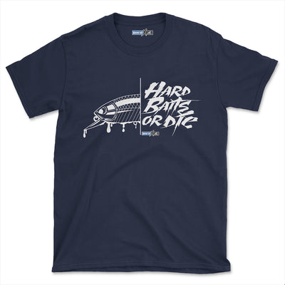 Hard Baits or Die (Short-Sleeve Graphic T-Shirt)