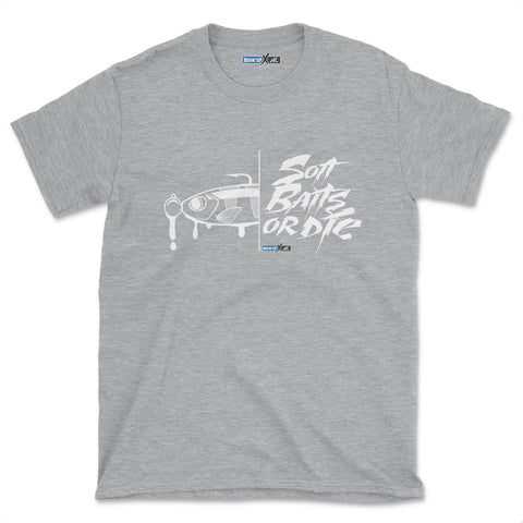 Soft Baits Or Die (Short-Sleeve Graphic T-Shirt)