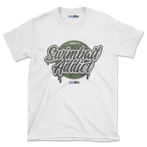 Swimbait Addict (Short-Sleeve Graphic T-Shirt)