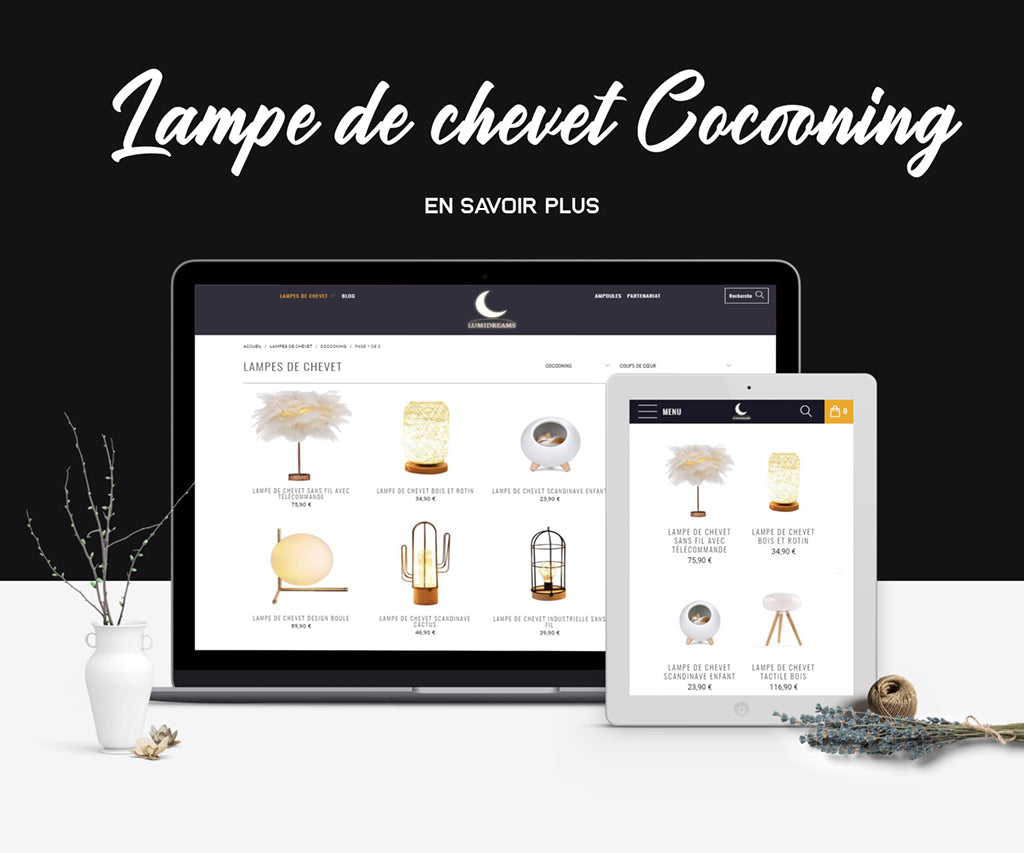 collection lampe cocooning