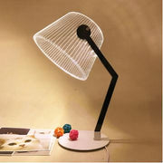 Lampe de Chevet Design Optical Illusion LED Lampe