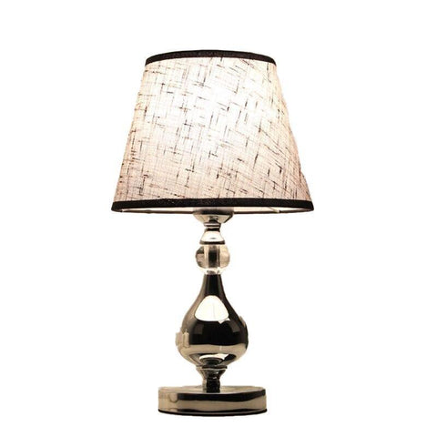 Lampe de Chevet Design Noir Brillant | LumiDreams