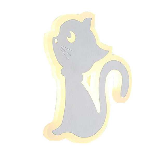 Lampe de Chevet Murale Chat | LumiDreams