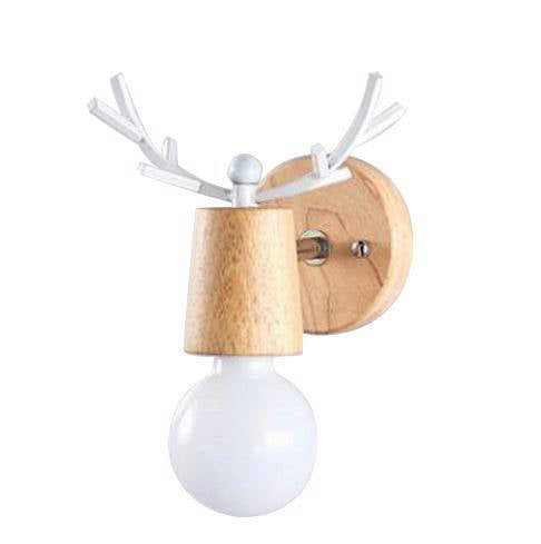 Lampe de Chevet Scandinave Applique Cerf | LumiDreams