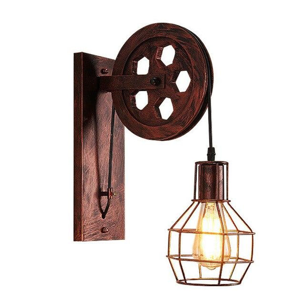 Lampe de Chevet Industrielle Applique | LumiDreams