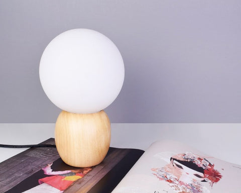 Lampe de Chevet Scandinave Ampoule LED