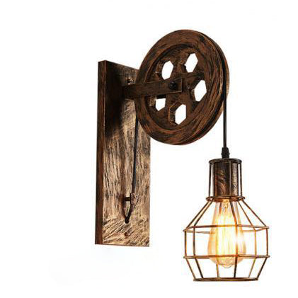 Lampe de Chevet Industrielle Applique