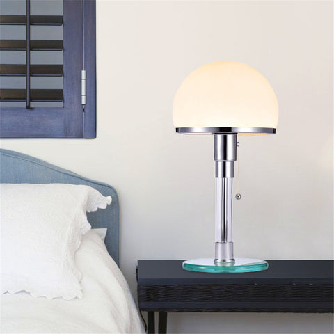 lampe de Chevet Design Chrome