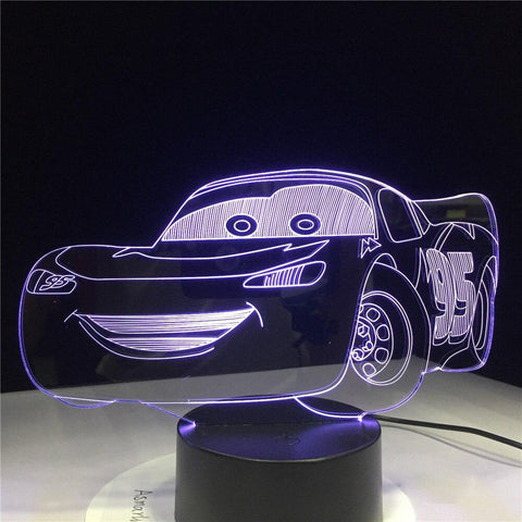 Lampe de Chevet Enfant Cars