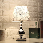 Lampe de Chevet Design Noir Brillant