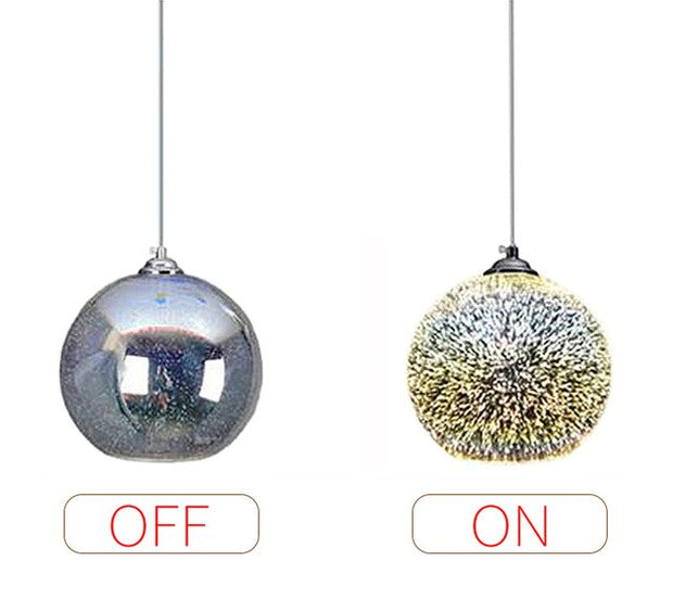 Lampe de Chevet Design Feu d'Artifice