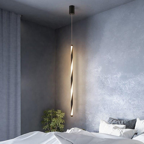 Lampe de Chevet Design Suspendu Tube