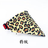 16 Colors Cat Dog Bandana Bibs Scarf Collar Adjustable Pet Neckerchief Scarf Waterproof Saliva Towel for Small Medium Large Dogs