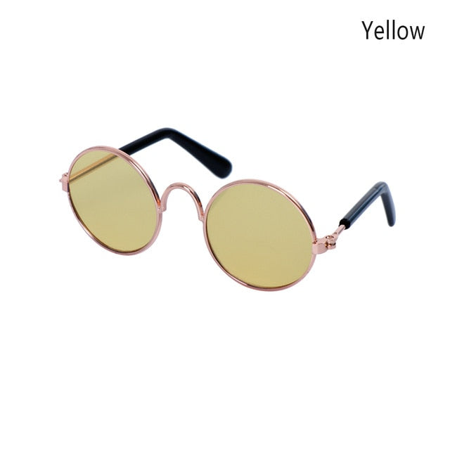 1PC Fashion Lovely Pet Cat Glasses Dog Glasses Pet Products For Little Dog Cat Eye-wear Protection Sunglasses Photos Accessoires