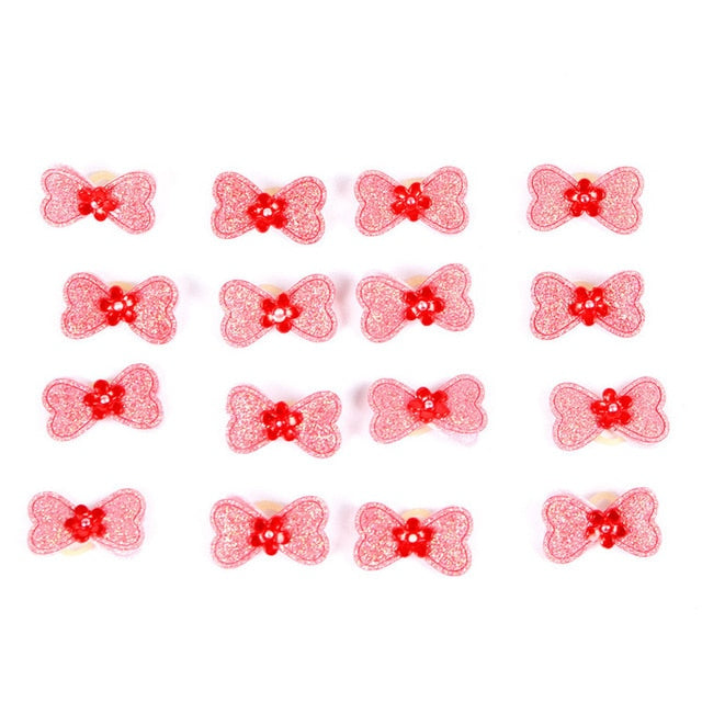 Small Dogs Accessories Bows Hair Yorkshire Shop For Pets Hair Clips Grooming Table Bows akcesoria dla psa accessoire chien