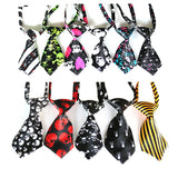 30 Pcs Halloween Party Dog Accessoires Pet Dog Necktie Adjustable Dog Collar Necktie For Small Medium Dog Pet Supplier