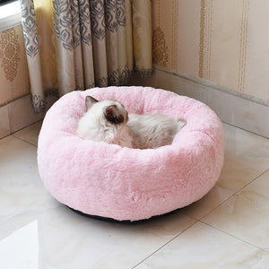 Pet Nest Kennel Cat Nest Winter Plush Cat Sleep Pet Supplies Soft Dog Bed Washable plush Kennel Deep Sleep Dog House