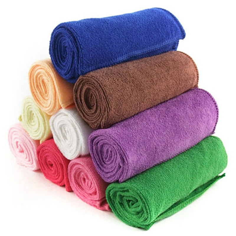 New Microfiber Strong Absorbent Water Bath Pet Towel Dog Towels Puppy Teddy General Pet Bath Supplies Cat Accessory