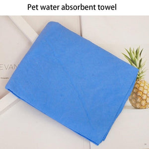 Pet Absorbent Towel Car Wash Towel Wholesale Cleaning Towel Cat Dog Bath Towel Dog Bath Towel Professional