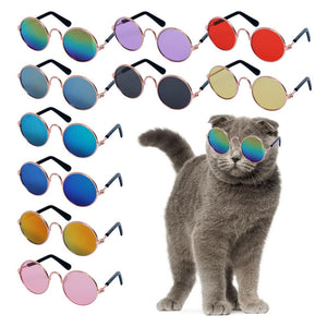 Cute Colorful Pet Cat Dog Glasses Pet Products For Little Dog Cat Eye-wear Protection Dog Sunglasses Photos Pet Accessoires