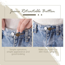 Load image into Gallery viewer, Jeans Retractable Button