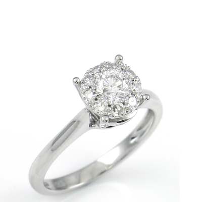 .75ct Facelook Diamond Ring by Kury - Available at SHOPKURY.COM. Free Shipping on orders over $200. Trusted jewelers since 1965, from San Juan, Puerto Rico.