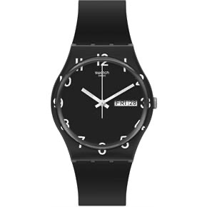 over black by Swatch - Available at SHOPKURY.COM. Free Shipping on orders over $200. Trusted jewelers since 1965, from San Juan, Puerto Rico.