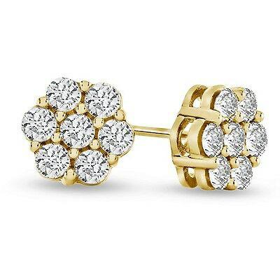 14K Flower Stud Earrings by Kury - Available at SHOPKURY.COM. Free Shipping on orders over $200. Trusted jewelers since 1965, from San Juan, Puerto Rico.