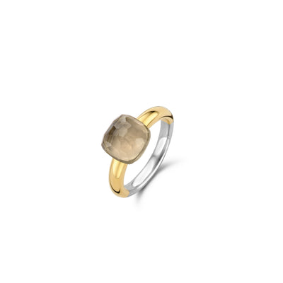 Taupe Cushion Ring by Ti Sento - Available at SHOPKURY.COM. Free Shipping on orders over $200. Trusted jewelers since 1965, from San Juan, Puerto Rico.