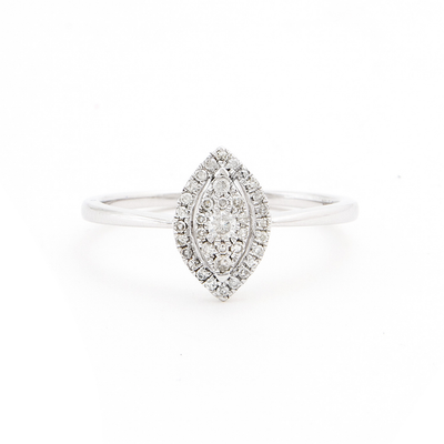 .16ct Diamond Marquise Shape Ring - Kury Jewelry