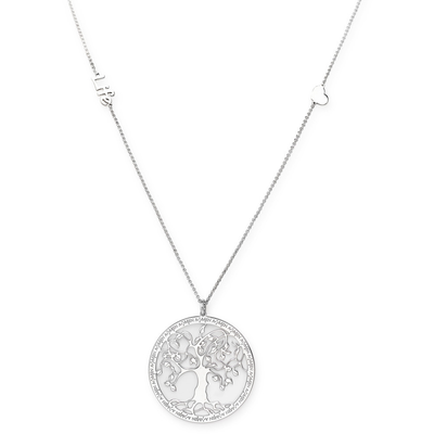 Tree of Life Necklace by Amen - Available at SHOPKURY.COM. Free Shipping on orders over $200. Trusted jewelers since 1965, from San Juan, Puerto Rico.