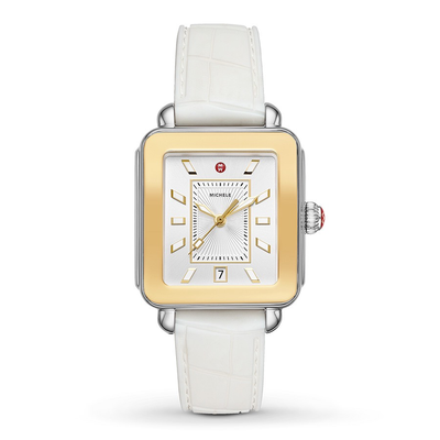 White Deco Sport by MICHELE - Available at SHOPKURY.COM. Free Shipping on orders over $200. Trusted jewelers since 1965, from San Juan, Puerto Rico.