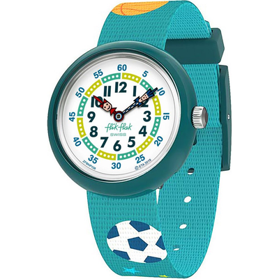 Ball time by Flik Flak by Swatch - Available at SHOPKURY.COM. Free Shipping on orders over $200. Trusted jewelers since 1965, from San Juan, Puerto Rico.