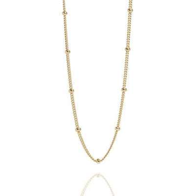 Beaded Chain 14K by Kury - Available at SHOPKURY.COM. Free Shipping on orders over $200. Trusted jewelers since 1965, from San Juan, Puerto Rico.