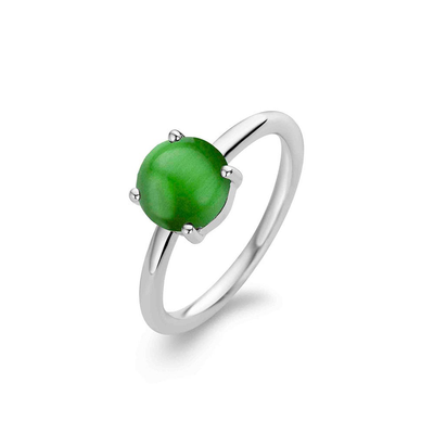 Green Catseye Ring by Ti Sento - Available at SHOPKURY.COM. Free Shipping on orders over $200. Trusted jewelers since 1965, from San Juan, Puerto Rico.