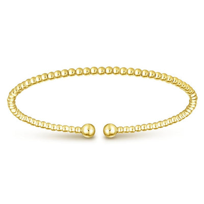 Beaded Gold Bangle - SHOPKURY.COM