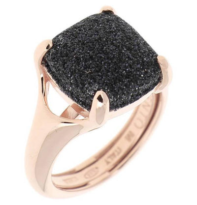 Polvere Cushion Claw Rose/Black Ring Large by Pesavento - Available at SHOPKURY.COM. Free Shipping on orders over $200. Trusted jewelers since 1965, from San Juan, Puerto Rico.