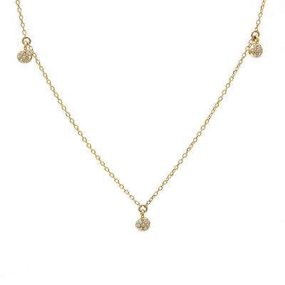 Dancing Diamonds  Necklace - SHOPKURY.COM