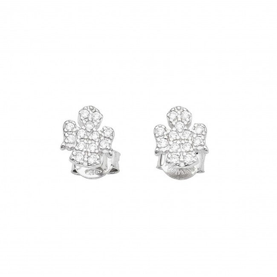 Angel Pave Earrings by Amen - Available at SHOPKURY.COM. Free Shipping on orders over $200. Trusted jewelers since 1965, from San Juan, Puerto Rico.