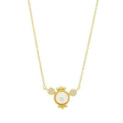 Allure Necklace by Freida Rothman - Available at SHOPKURY.COM. Free Shipping on orders over $200. Trusted jewelers since 1965, from San Juan, Puerto Rico.