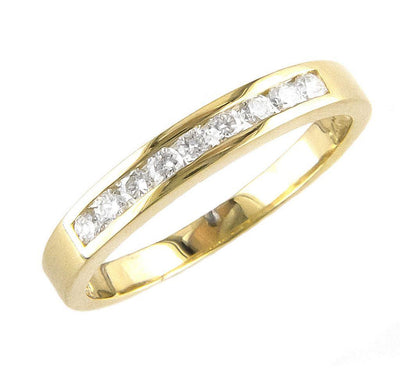 .25ct Yellow Gold Diamond Ring by Kury Bridal - Available at SHOPKURY.COM. Free Shipping on orders over $200. Trusted jewelers since 1965, from San Juan, Puerto Rico.