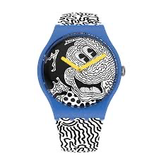 Mickey blanc sur noir by Swatch - Available at SHOPKURY.COM. Free Shipping on orders over $200. Trusted jewelers since 1965, from San Juan, Puerto Rico.