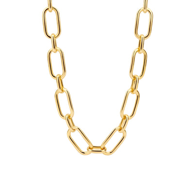 Classical Golden Necklace by Ti Sento - Available at SHOPKURY.COM. Free Shipping on orders over $200. Trusted jewelers since 1965, from San Juan, Puerto Rico.