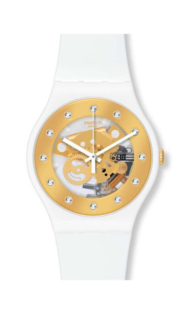 sunray glam by Swatch - Available at SHOPKURY.COM. Free Shipping on orders over $200. Trusted jewelers since 1965, from San Juan, Puerto Rico.
