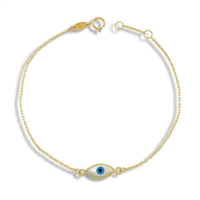 Evil Eye Bracelet by Kury - Available at SHOPKURY.COM. Free Shipping on orders over $200. Trusted jewelers since 1965, from San Juan, Puerto Rico.