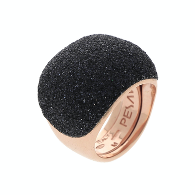 Polvere Dome Rose/Black Ring Medium - SHOPKURY.COM