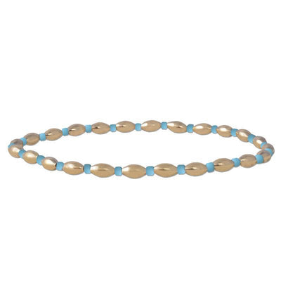 Alternating Oval Turquoise Beads Bracelet by Kury - Available at SHOPKURY.COM. Free Shipping on orders over $200. Trusted jewelers since 1965, from San Juan, Puerto Rico.