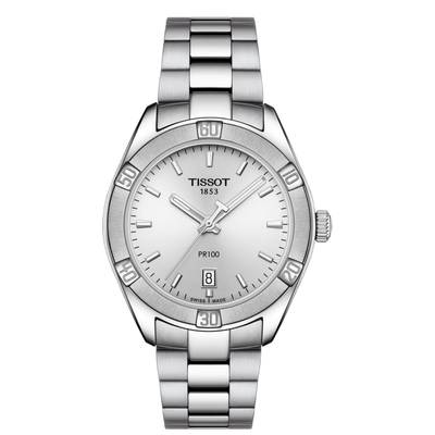 PR 100 Ladies Sport Chic 36mm by Tissot - Available at SHOPKURY.COM. Free Shipping on orders over $200. Trusted jewelers since 1965, from San Juan, Puerto Rico.